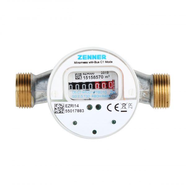 Aufputzwasserzähler Minomess®  mit Wireless M-Bus-Schnittstelle