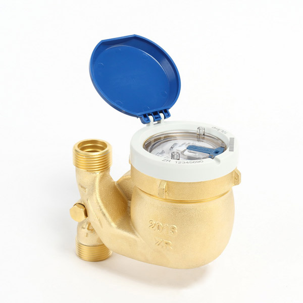 Water Meter MNK-FA downstreaming pipe model, retrofittable with pulser