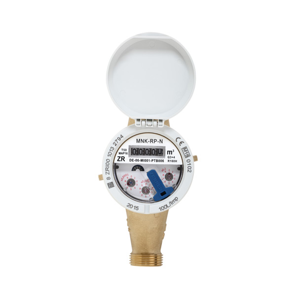 Water Meter MNK-RP-N, retrofittable with pulser