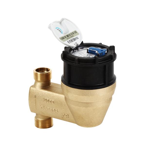 Steigrohr-Wasserzähler MNK-P-N-ST mit Kunststoff-Kopfverschraubung