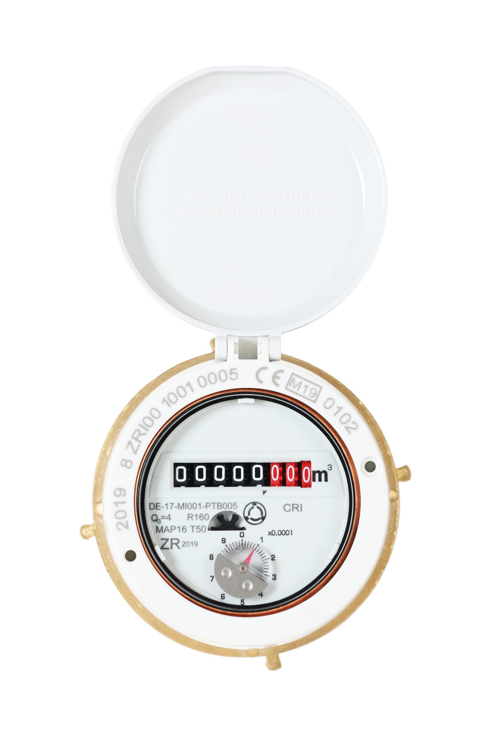 Positive displacement water meter RTKD-MF