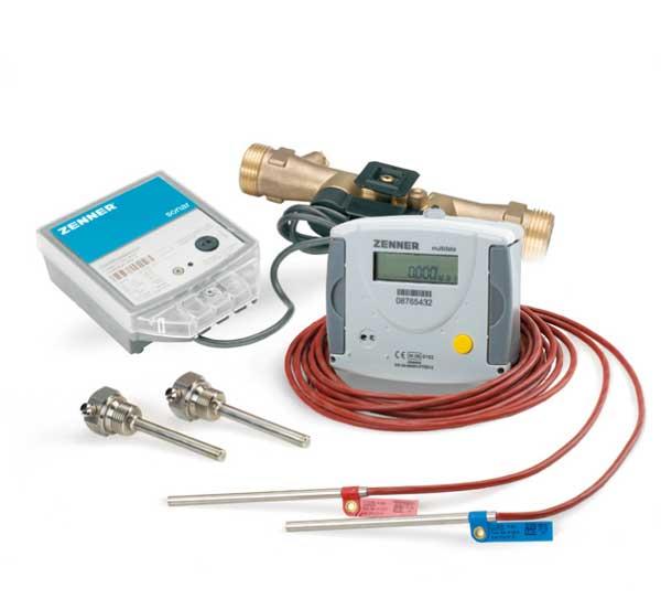 Ultrasonic Splitt Heat Meter with Ultrasonic Flow Sensor sonar